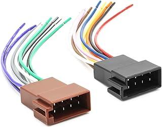 Daewoo Lanos Leganza matiz Nubira Kalos Tacuma Radio Adaptador Cable Enchufe ISO