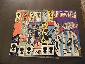 6 Iss Spectacular Spider-Man #95-100 1984-85 Bronze Age Marvel Comics