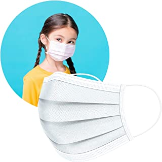 ArtNaturals Disposable Kids Face Mask (50 Pcs) - Hypo Allergenic, Anti-Dust & Water, Protection for Kid Filter Masks - w/ ...
