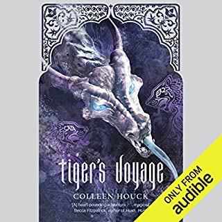 Tiger's Voyage audiobook cover art