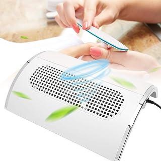 Lámpara UV Led Uñas 40W, Extractor de polvo de uñas profesional, Extractor fuerte de extracción 3, Extracción de uñas para aspiradora de salón de uñas(EU)
