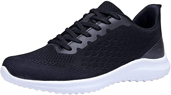 BESERVE Women's Athletic Shoes Integral Weaving Casual Sneakers