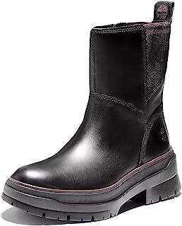 حذاء Timberland Malynn مقاوم للماء ذو سحاب جانبي للسيدات