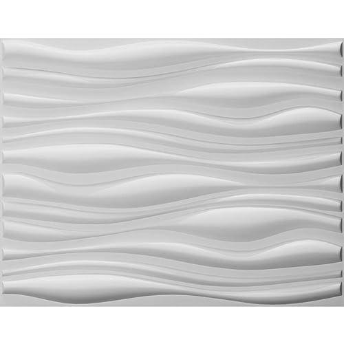 Art3d Decorative 3D Wall Panels Wave Board Design For TV Walls/Bedroom/Living  Room