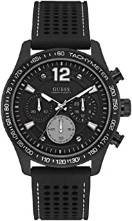 Guess Fleet Watch for Men - Analog  Silicone Strap - W0971G1
