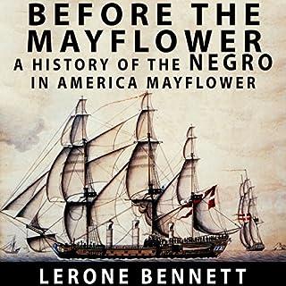 Before the Mayflower audiobook cover art