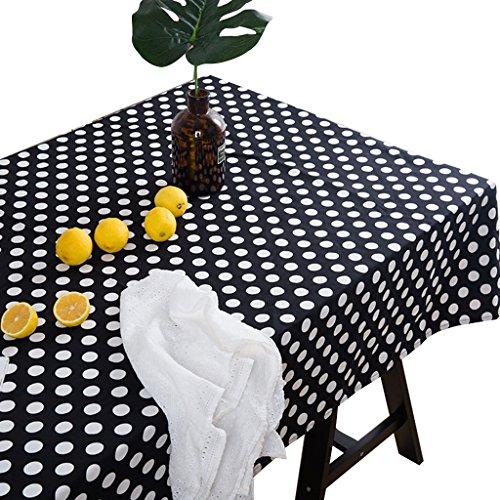 Big Plastique Circulaire Table Housse Chiffon Nettoyage Fête Nappe couvre Mat L