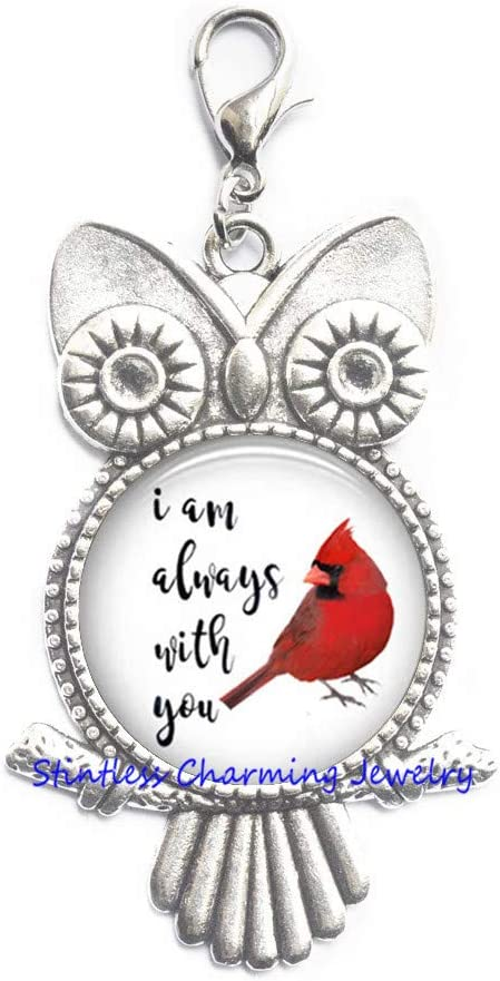 Cardinal Lobster Clasp Cheap bargain - Red Owl Resin Je Pull Zipper specialty shop