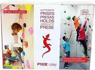 Fixe Play Kit para Escalada, Niños, Multicolor, Talla Única