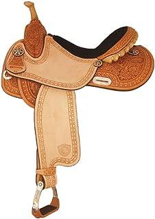 Tex Tan Star Racer Barrel Saddle