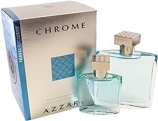 Chrome by Azzaro Gift Set for Men - Eau de Toilette, 100 ml - 30 ml, 2 Count