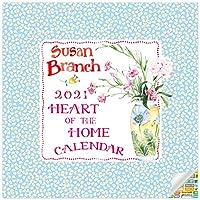 Susan Branch - Heart of The Home カレンダー2021バンドル - デラックス2021スーザン ブランチ ウォールカレンダー 100枚以上のカレンダーステッカー付き
