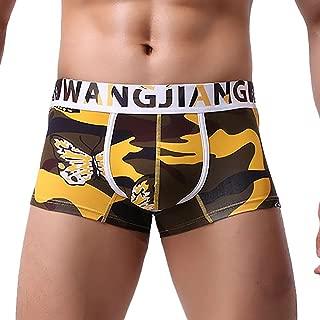 Ruiyue Multi-Color Underwear, Print Boxer Briefs Shorts Bulge Pouch Underpants for Men