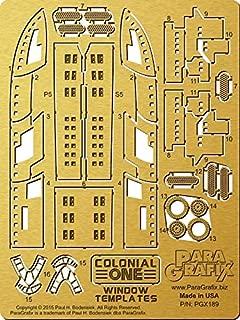 Battlestar Galactica - Colonial One Window Templates - PGX189