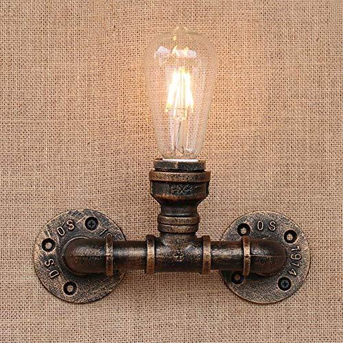 Retro Punky stoomreiniger Loft ijzer industriële schimmel waterslang LED wandlamp wandlamp E27 voor woonkamer slaapkamer bar