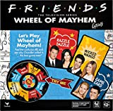 Spin Master Games Friends TV Show, Wheel of Mayhem Game, for Adults and Kids Ages 12 and up, Multicolor (6054083)