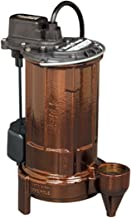 Liberty Pumps 287 1/2-Horse Power 1-1/2-Inch Discharge 280-Series Automatic Submersible..