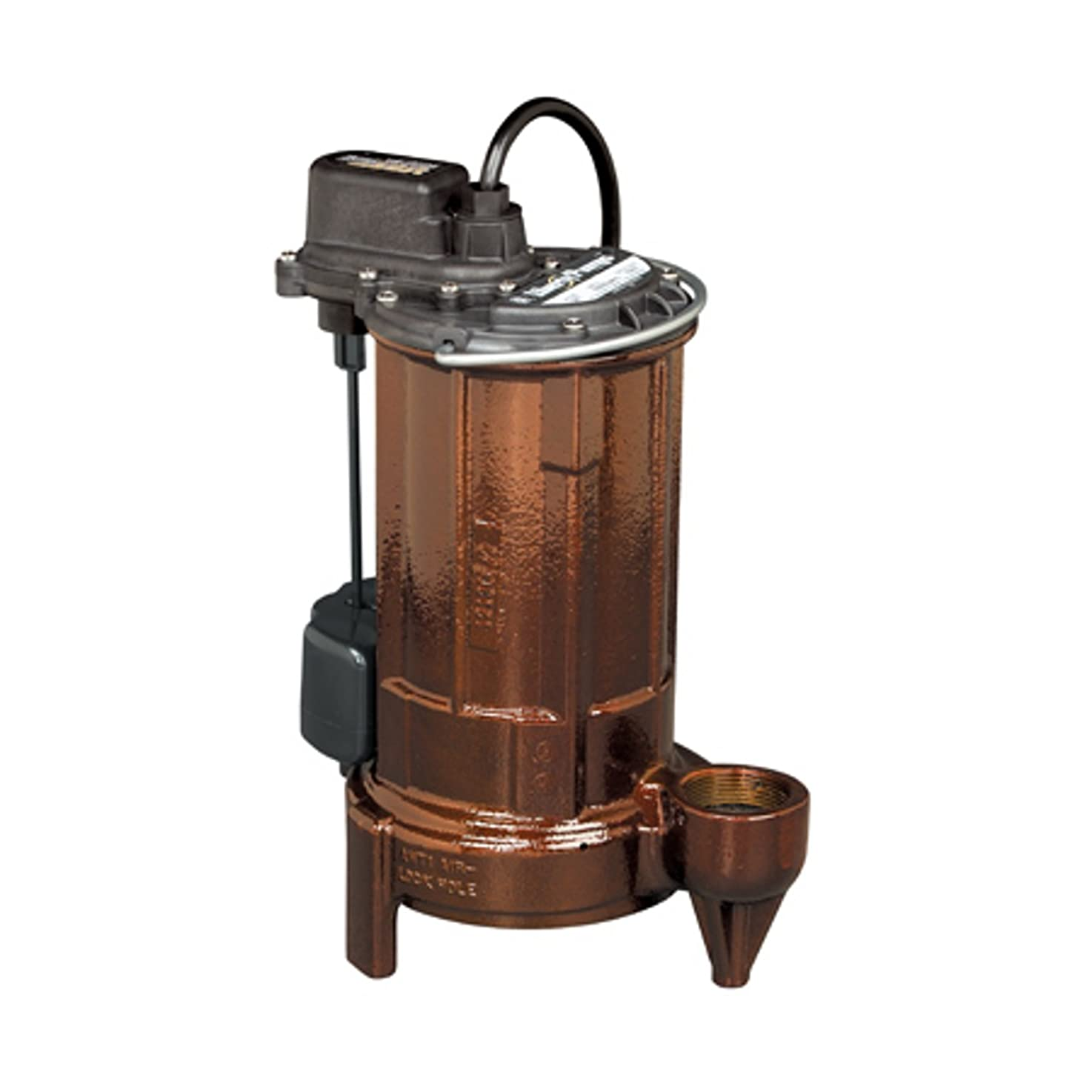Liberty Pumps 287 1/2-Horse Power 1-1/2-Inch Discharge 280-Series Automatic Submersible Sump Pump with VMF Switch ngssqdzndlkjf2