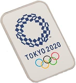 東京2020オリンピックエンブレム ピンバッジ スクウェア 01