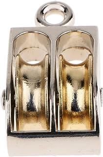 D DOLITY zwenkschijf, Takelwerk-hefmachine met dubbele wiel opknoping riemschijf Zoals afgebeeld 13 mm