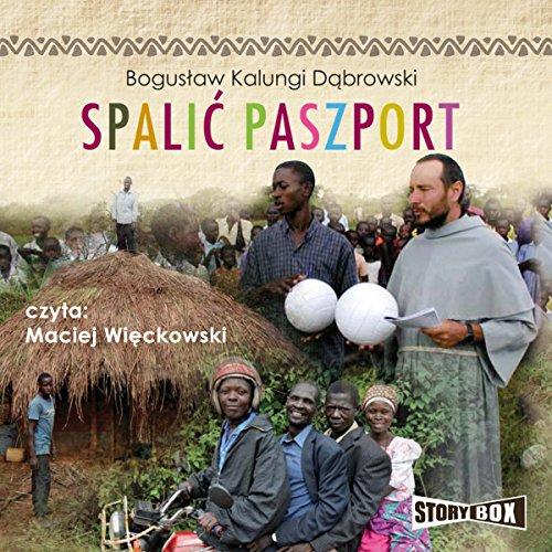 Spalic paszport audiobook cover art
