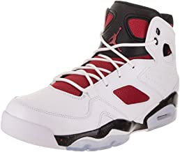 Jordan Mens FLTCLB 91 White Gym RED Black Night Size 10