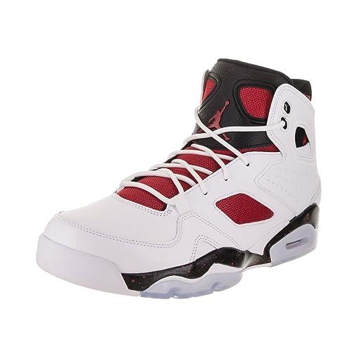 the best attitude bbeaa 09414 Jordan Mens FLTCLB 91 White Gym RED Black Night Size 8.5