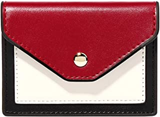 Pusaman The New Mini Ladies Card Package, Multi-Functional Creative Fashion Wallet (Color : Black, Size : 11 * 2 * 8.3cm)