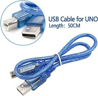 UNO R3 Board ATmega328P ATMEGA16U2 With USB Cable for Arduino (USB Cable)
