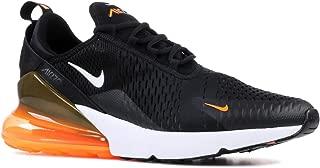 Nike Men's Air Max 270, Black/White-Total Orange, 13 M US
