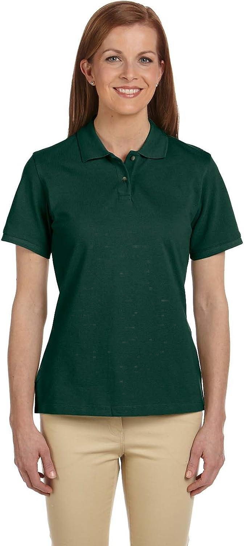 Harriton 6 oz. Ringspun Cotton Pique Short-Sleeve Polo (M200W)