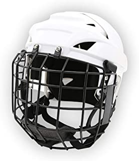 CCOOL Hockey Helmet,Ice Hockey Mask Cage Strong Impact Resistance Face Mask,Protective Gear Explosion-Proof Goalkeeper Pro...