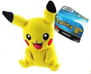 Pokemon Pikachu 8 inch Basic Plush T18587 Stuffed Toy