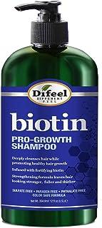 Difeel Pro-Growth Biotin Shampoo 12 oz. - Shampoo for Thinning Hair and Hair Loss