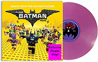The Lego Batman Movie - Songs From The Motion Picture Exclusive Purple Vinyl