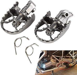 Moto Wide Enduro Rotule r/églable Repose-pieds pour BMW R1200GS Repose-pieds LC Adventure