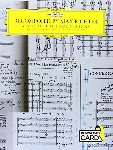 The Four Seasons -Recomposed By Max Richter- (Book, Audio Download): Songbook, E-Bundle, Download (Audio) für Klavier, Violine