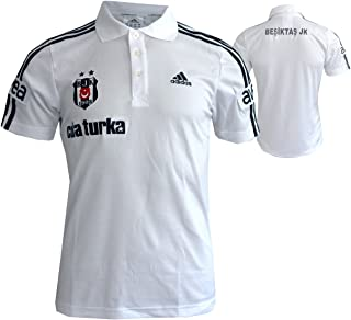 adidas Besiktas Istanbul Polo-Shirt Jersey Climalite weiß