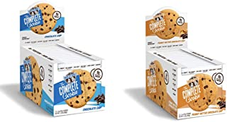 Lenny & Larry's Chocolate chip & PB Chocolate Chips Pack of 2 x12ct