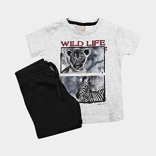 Conjunto Infantil Milon Wild Life Masculino