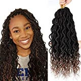 Flyteng Senegalese Twist Crochet Braids 8 Packs 15 Stands/Pack Wavy crochet senegalese twist Crochet Hair Extensions