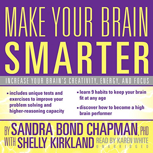 Make Your Brain Smarter audiobook cover art