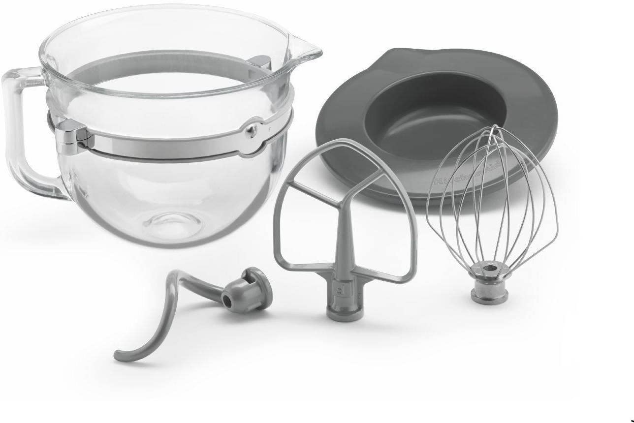 KitchenAid 6 Quart Quantity limited Glass Mixing with High order Accessories for Bowl-l Bowl