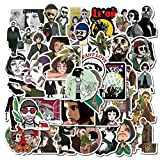 BLOUR TV Show Shape of My Heart Stickers para Laptop Pc Guitarra Decal Skateboard Suitcase Waterproof Sticker 50pcs / Set