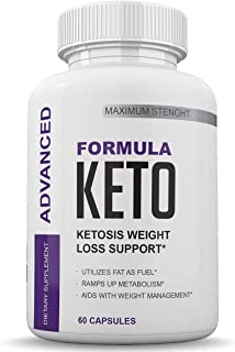 Sponsored Ad - Advanced Formula Keto - Ketosis Weight Loss Support - Ramps Up Metabolism - 60 Capsules - 30 Day Supply