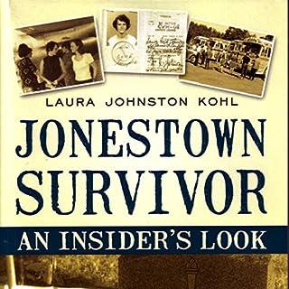 Jonestown Survivor audiobook cover art