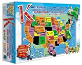 Kids' Puzzle of the USA (55 Piece)