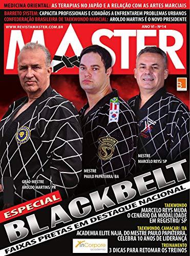Revista Master 14 - Caderno Black Belt (Portuguese Edition)