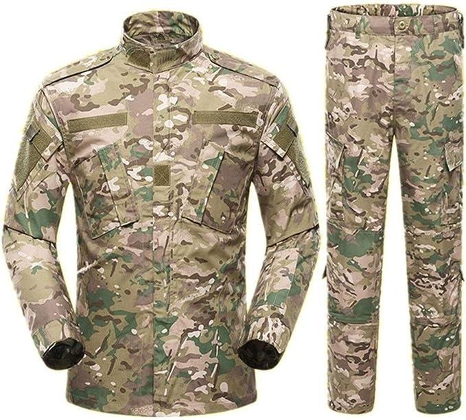 DERFX Los Hombres del Ejército Militar Uniforme Traje táctico ...