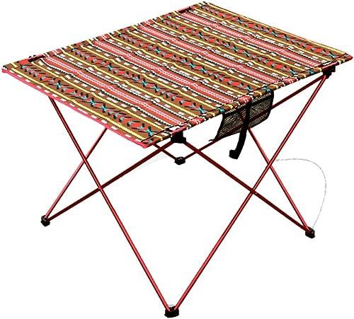 Klapptisch Cqq Einfach und Modern Outdoor Portable Aluminiumlegierung Klapplagertisch Picknicktisch Stalltisch Teleskop Esstisch Grilltisch, Küche und Esstisch, Büro, Kinder, Kindertisch Wandtisch